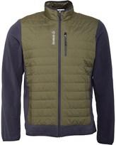 Reebok Mens Insulated Hybrid Full Zip Jacket Green