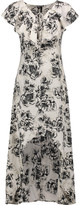 W118 by Walter Baker Shanice floral-print crepe de chine midi dress