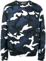 Valentino camouflage sweatshirt - men - Cotton/Polyamide - S