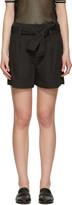 Etoile Isabel Marant Black Oscar Bow Shorts