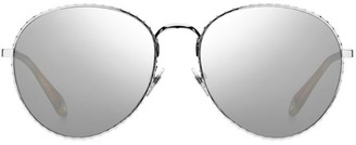 Givenchy 60MM Mirrored Aviator Sunglasses