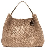 Thumbnail for your product : Etienne Aigner Eitenne Aigner Irena Woven Leather Hobo
