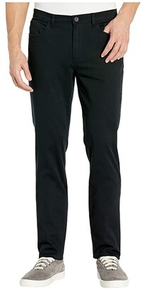 Calvin Klein Cavalry Twill Five-Pocket (Black) Men's Casual Pants