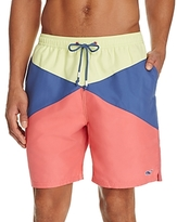 Vineyard Vines Color Block Burgee Bungalow Board Shorts