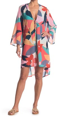 Laundry by Shelli Segal Big Deal Open Front Kaftan