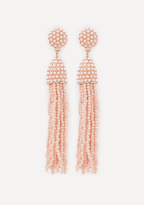 Bebe Beaded Tassel Earrings