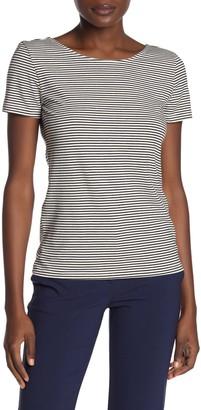 Catherine Malandrino Double Scoop T-Shirt