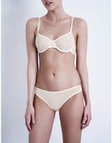 Bodas Sheer Tactel underwired bra
