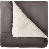 JCP HOME JCPenney HomeTM Faux Ultra Mink to Sherpa Throw