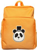 Mini Rodini Panda Patch Nylon Canvas Backpack