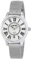 August Steiner Women's AS8094SS Stainless Steel and Diamond Watch