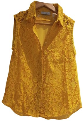 Sandro Yellow Top for Women