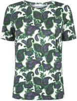 Sandro Paisley Print Cotton T-Shirt