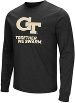 Campus Heritage Men's Campus Heritage Georgia Tech Yellow Jackets Logo Long-Sleeve Tee