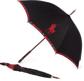 Ralph Lauren Steward Plaid Umbrella
