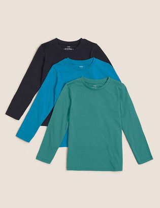 Marks and Spencer 3pk Cotton Top (6-14 Yrs)