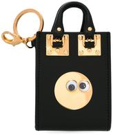 Sophie Hulme tote bag keyring - women - Calf Leather - One Size
