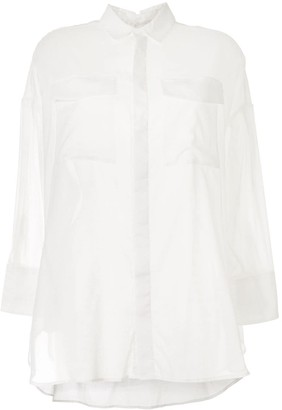 Izzue Sheer Cargo Shirt