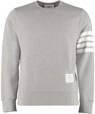 Thom Browne Printed Cotton Sweatshirt