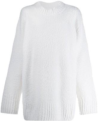 Maison Margiela Textured Oversized Sweater