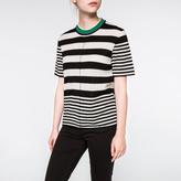 Paul Smith Women's Irregular-Stripe Merino Wool Sweater