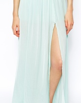 Pull&Bear Split Side Maxi Skirt