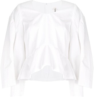Comme des Garcons Sleeve Detail Fitted Shirt