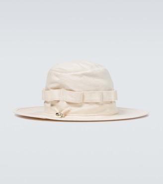 Jil Sander Cotton hiking hat