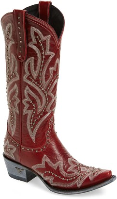 Lane Boots Saratoga Stud Western Boot