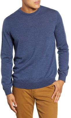 Brax Rick Elbow Patch Merino Wool Sweater