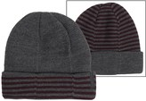 Calvin Klein 4-Way Stripe Beanie - Reversible (For Men)