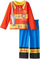 "Caillou Little Boys' Toddler ""Firefighter Caillou"" 2-Piece Pajamas"