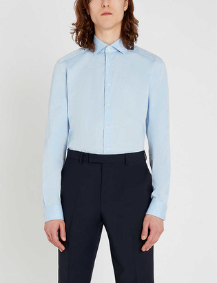 Reiss Irving slim-fit cotton shirt
