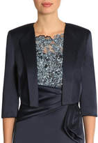 Anthea Crawford Ink Satin Bolero