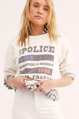 Original Retro Brand Police Live In Paris Tee