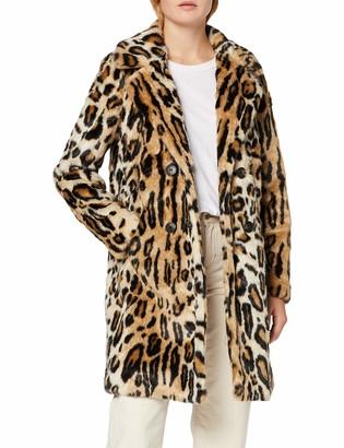 Vero Moda Women's Vmrioharper 3/4 Faux Fur Jacket Coat