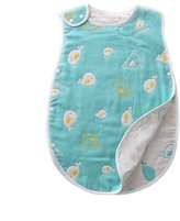 DIDIDA Baby Muslin Sleep Sack Wearable Blanket Sleeping Bags Infants Night Wrap