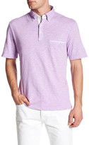 Thomas Dean Short Sleeve Polo
