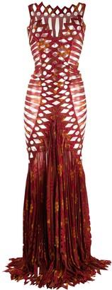 Gianfranco Ferré Pre-Owned 1990s Geometric Cut-Out Dress