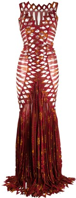 Gianfranco Ferré Pre Owned 1990s Geometric Cut-Out Dress