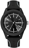 Reebok Black Dial Silicone Strap Watch