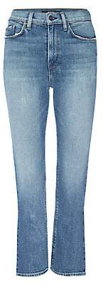 Hudson Jeans Women's Holly High-Rise Crop Slit Flare Jeans