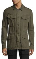Belstaff Weymouth Cotton & Linen Military Jacket