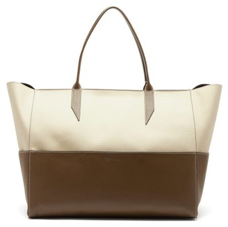 Métier Metier - Incognito Large Cabas And Leather Tote Bag - Green Multi