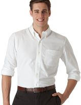 Chaps Men's Classic-Fit Solid Oxford Casual Button-Down Shirt