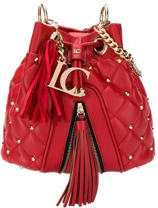 La Carrie diamond quilt bucket bag