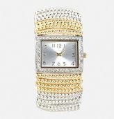 Avenue Twisted Two-Tone Stretch Watch