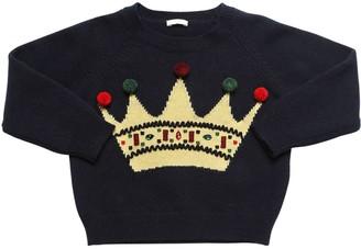 Il Gufo Intarsia Wool Knit Sweater
