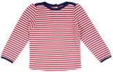 Jo-Jo JoJo Maman Bebe Stripe Top (Baby) - Red/Cream Stripe-12-18 Months