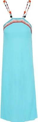 Emilio Pucci Bead-embellished Crepe Dress